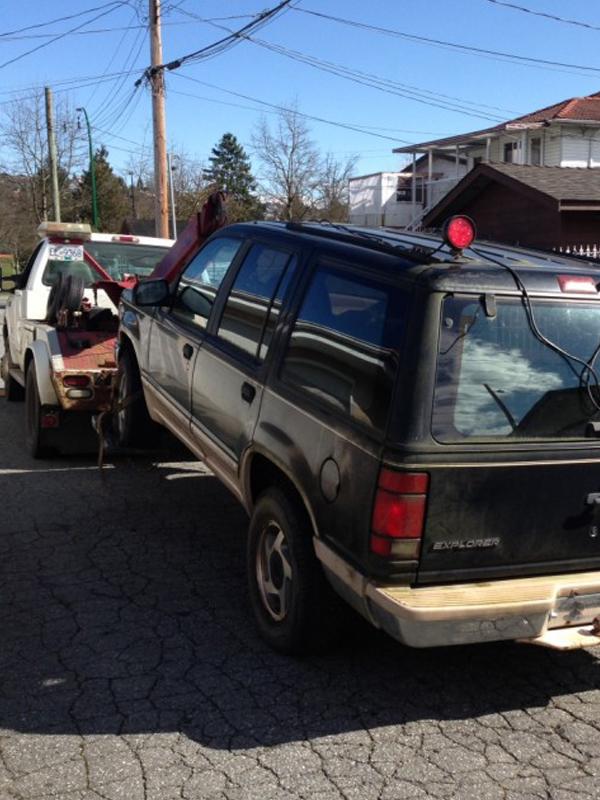 Scrap Car Removal Surrey Services